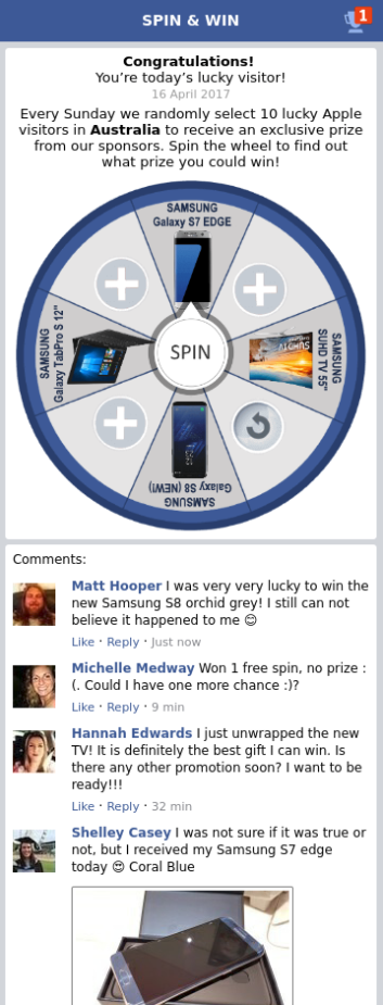 Facebook themed roulette – TheOptimizer io